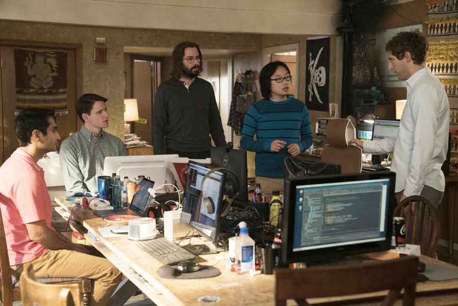 Silicon Valley - Staffel 5 mit Martin Starr, Zach Woods, Kumail Nanjiani, Thomas Middleditch und Jimmy O. Yang
