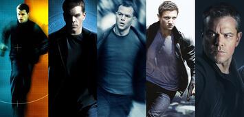Bild zu:  Die Bourne-Reihe