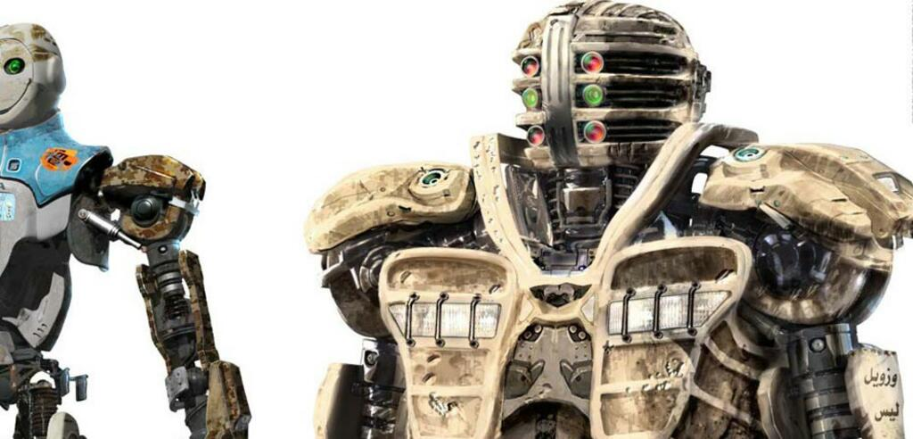 Concept Art für Robopocalypse
