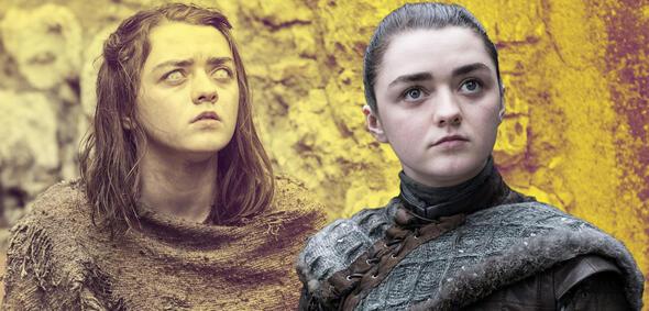 Maisie Williams als Arya Stark in Game of Thrones