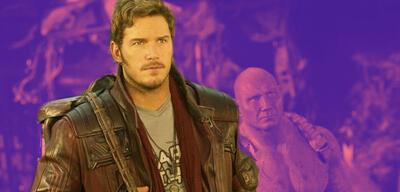 Chris Pratt als Star-Lord in Guardians of the Galaxy
