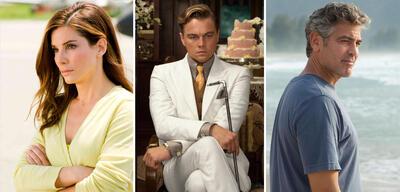 Sandra Bullock, Leonardo DiCaprio und George Clooney fehlten dieses Jahr auf der Kinoleinwand