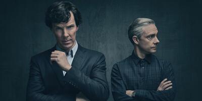 Sherlock Holmes und John Watson in alter Form?