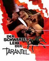 Der schwarze Leib der Tarantel - Poster