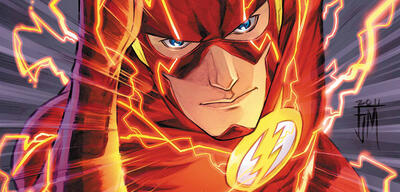 The Flash in Comic-Form