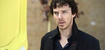 Sherlock steht völlig neben sich.