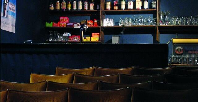 Die Kinobar bietet mehr als Filme.