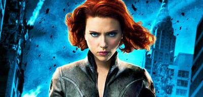 Black Widow mit Scarlett Johansson