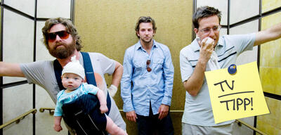 Hangover, mit Zach Galifianakis, Bradley Cooper & Ed Helms
