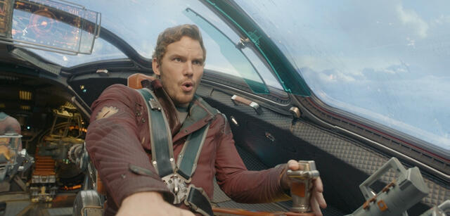 Chris Pratt im WGA-nominiertenGuardians of the Galaxy