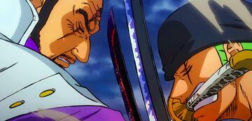 Zorro vs. Admiral Fujitora
