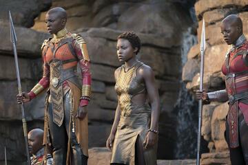 Black Panther wurde siebenmal nominiert, darunter für das Beste Kostümdesign.