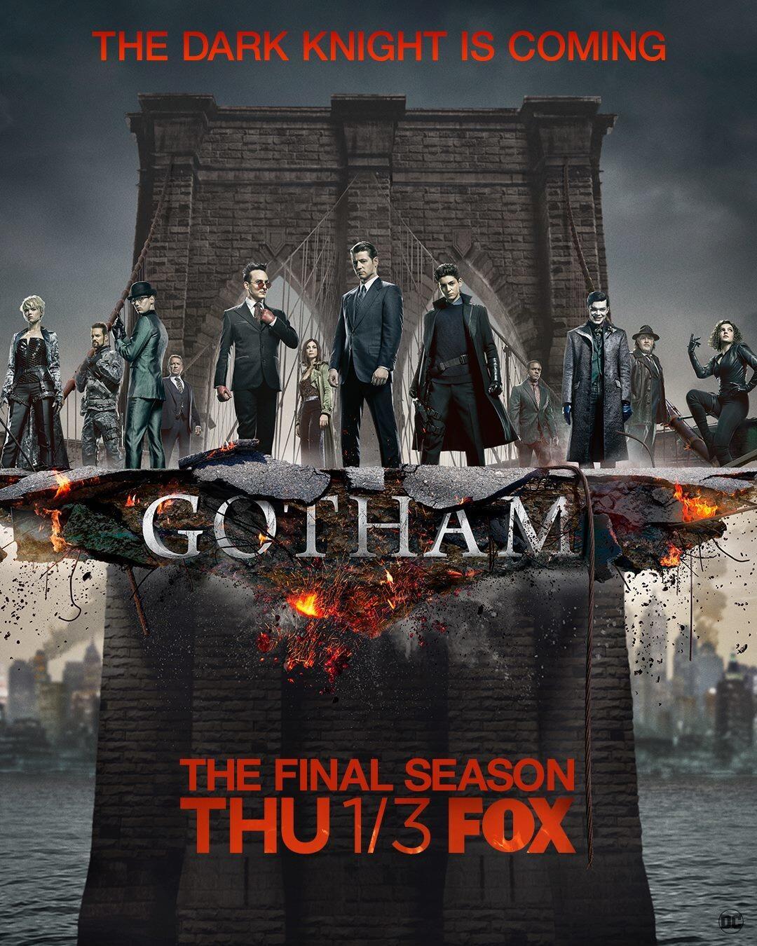 Gotham Staffel 5 Deutschland