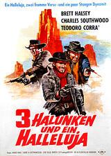 Drei Halunken und ein Halleluja - Poster