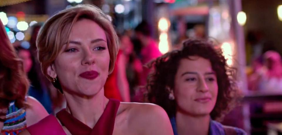 Scarlett Johansson Girls Night Out