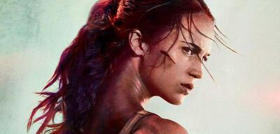Tomb Raider Plakat - Inklusive Photoshop-Malheur