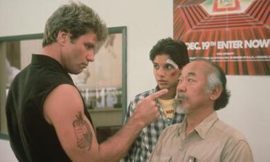 Karate Kid mit Pat Morita und Ralph Macchio - Bild 1