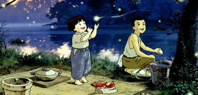 Isao Takahata (rechts) auf dem Cover von The Kingdom of Dreams and Madness