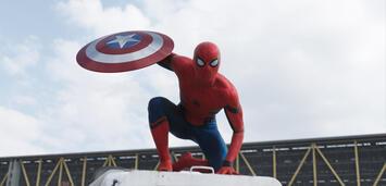 Bild zu:  Tom Holland als Spider-Man in Captain America: Civil War