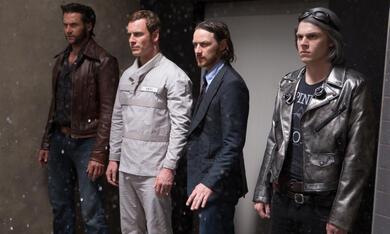 X-Men: Zukunft ist Vergangenheit mit Michael Fassbender, Hugh Jackman und James McAvoy - Bild 2