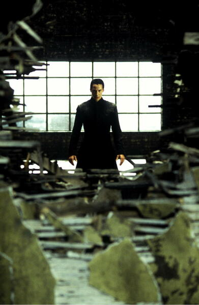 Matrix Revolutions mit Keanu Reeves