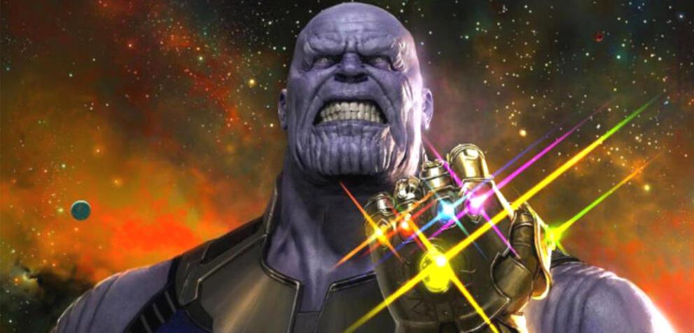 Thanos und seine Infinity-Steine