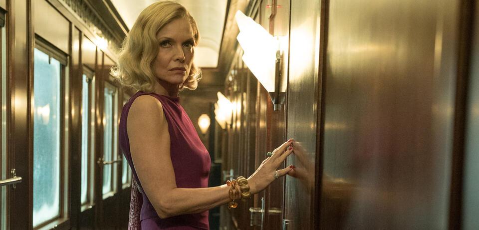 Michelle Pfeiffer inMord im Orient Express