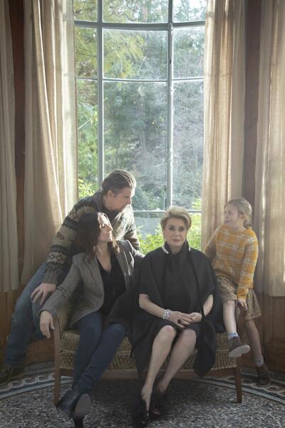La vérité mit Ethan Hawke, Juliette Binoche und Catherine Deneuve