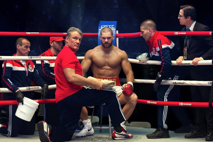 Creed II mit Dolph Lundgren und Florian Munteanu