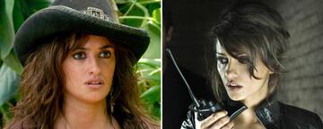 Penélope Cruz in Fluch der Karibik 4 und Mónica Cruz in Jerry Cotton