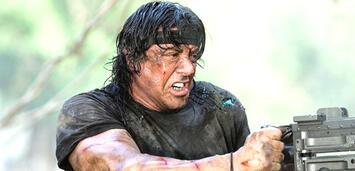 Bild zu:  Sylvester Stallone als John Rambo