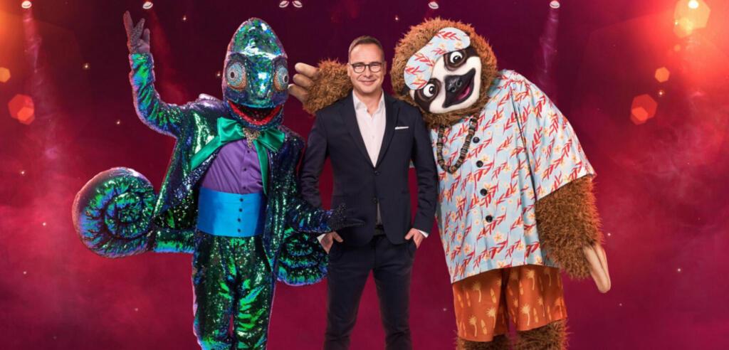 The Masked Singer mit dem Leguan und dem Faultier