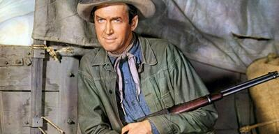 James Stewart in Meuterei am Schlangenfluß