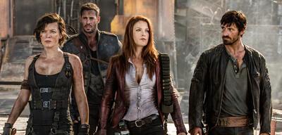 Resident Evil: The Final Chapter:Milla Jovovich schart neue Leute um sich in