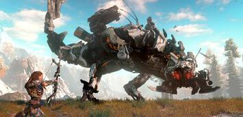 Bild zu:  Horizon: Zero Dawn – Eines der Spiele, auf die sich die gesamte gamespilot-Redaktion freut