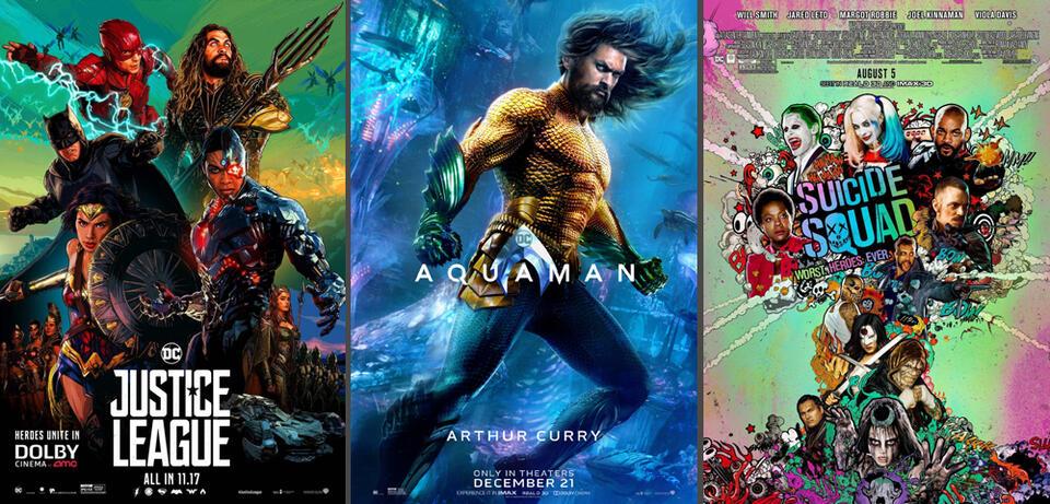 Aquaman & andereDCEU-Filme