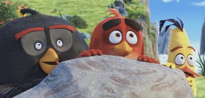 Red und seine Freunde im neuen deutschen Trailer zu Angry Birds