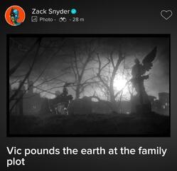 Cyborg in einer entfernten Justice League-Szene