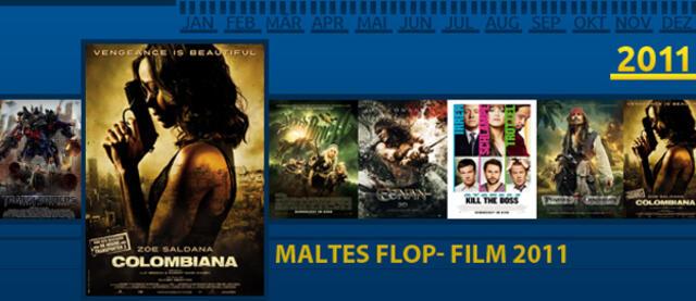 Flop-Filme des Jahres - Colombiana
