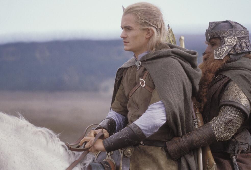 Der Herr der Ringe: Die Rückkehr des Königs mit Orlando Bloom und John Rhys-Davies