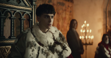 Timotheé Chalamet in The King