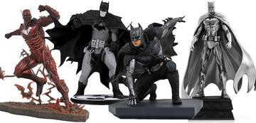 Batman in diversen Ausführungen
