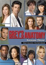 Grey's Anatomy - Staffel 3 - Poster
