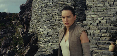 Daisy Ridley in Star Wars 8