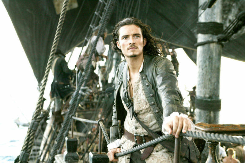 Pirates of the Caribbean - Fluch der Karibik 2 mit Orlando Bloom