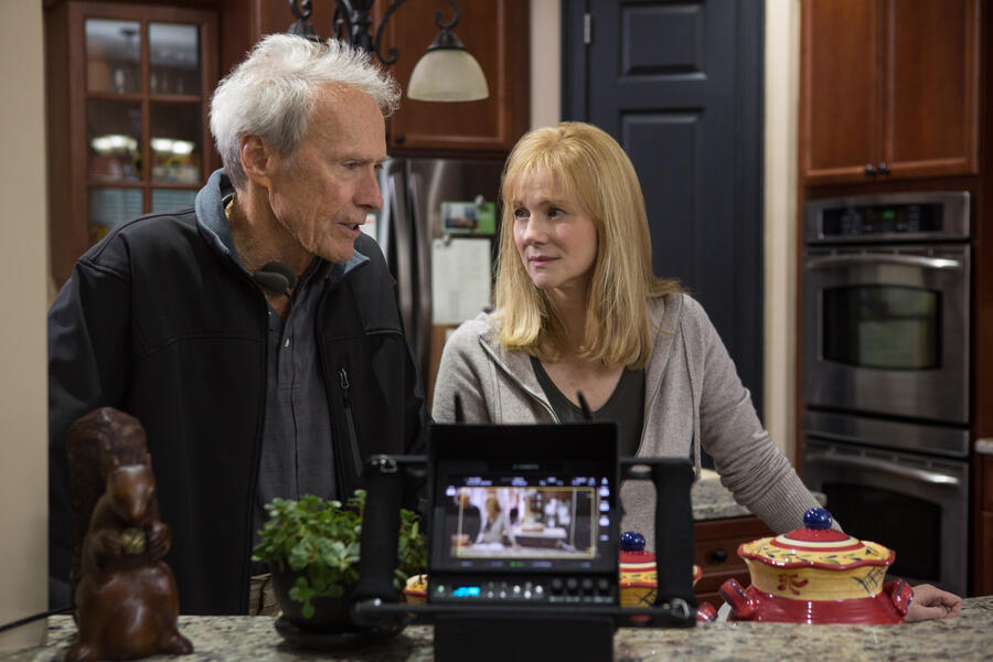 Sully mit Clint Eastwood und Laura Linney