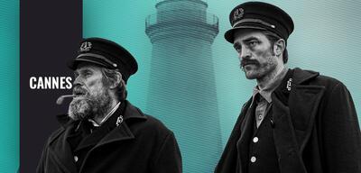 Wille Dafoe und Robert Pattinson in Der Leuchtturm