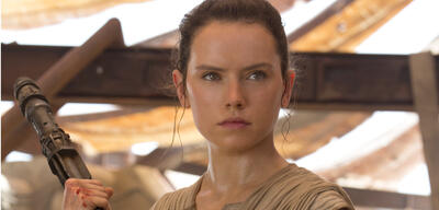 Daisy Ridley als Rey in Star Wars