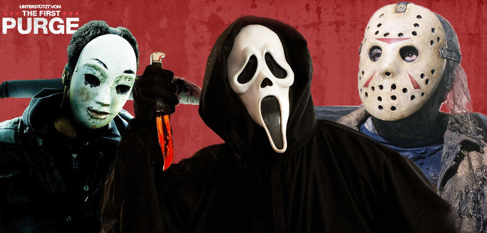 Ikonische Masken des Horrorgenres