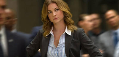 Emily VanCamp in Captain America 2